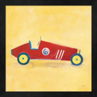 Metaverse Art Race Car 6 Framed Artwork