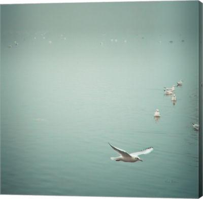 Metaverse Art Soul Birds Harbor Gray