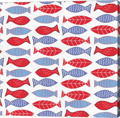 Metaverse Art Coastal Birds Pattern I