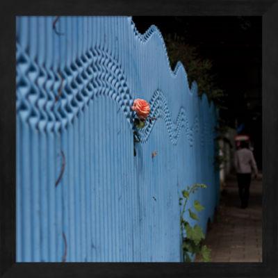 Metaverse Art Rose on Pentonville