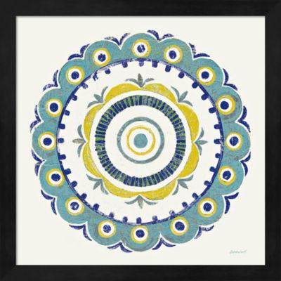 Metaverse Art Lakai Circle II Blue and Yellow