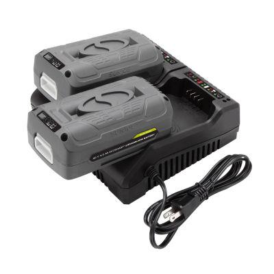 Snow Joe + Sun Joe Dual Port iON 40 V EcoSharp® Lithium-Ion Charger