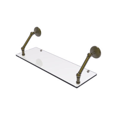 Allied Brass Prestige Monte Carlo Collection 24 Inch Floating Glass Shelf