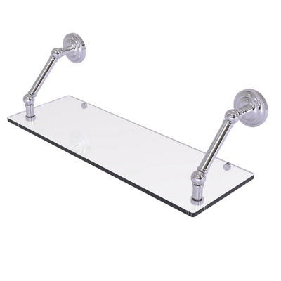 Allied Brass Prestige Que New Collection 24 Inch Floating Glass Shelf