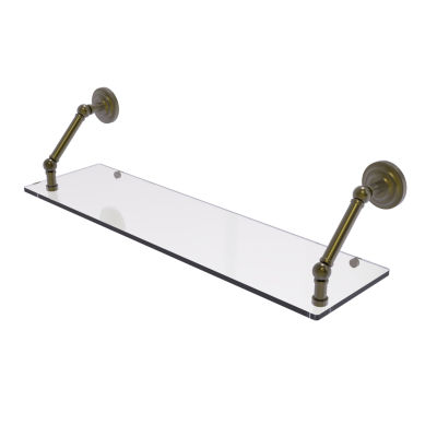 Allied Brass Prestige Que New Collection 30 Inch Floating Glass Shelf