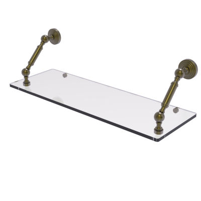 Allied Brass Waverly Place Collection 24 Inch Floating Glass Shelf