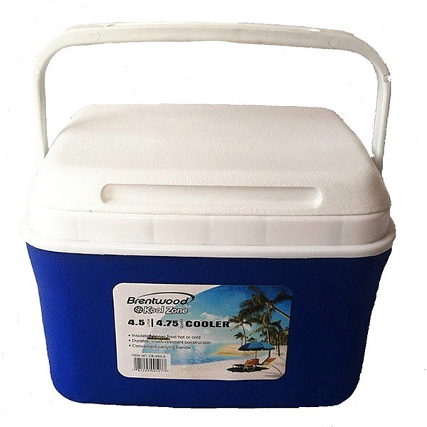 Brentwood 4.5 Liter (4.75Qt) Cooler Box / Ice Chest