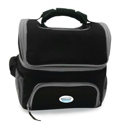 Brentwod 12 Can Cooler Bag with Extra Storage