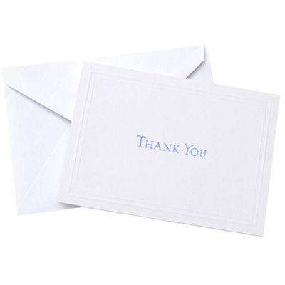 Gartner Studios Navy Blue Thank You Cards Jcpenney