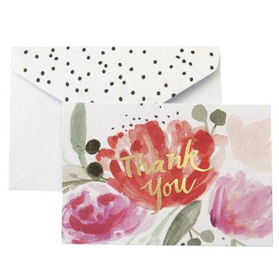 Gartner Studios Watercolor Floral Thank You Cards