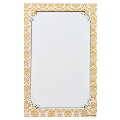 Gartner Studios Gold Border Invitations- 24 CT