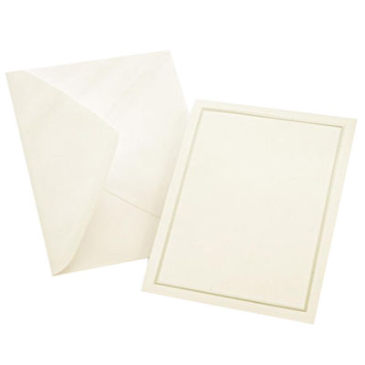 Gartner Studios Pearl Ivory Border All Purpose Cards