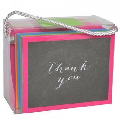 Gartner Studios Thank You Card Chalk/Bright 50CT