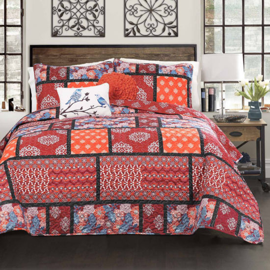 Lush Décor Meridian 5PC Quilt Set