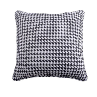 HiEnd Accents Hamilton Hounds Tooth Euro Sham