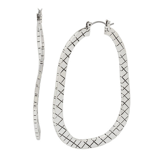 Libby Edelman 1 Pair Hoop Earrings