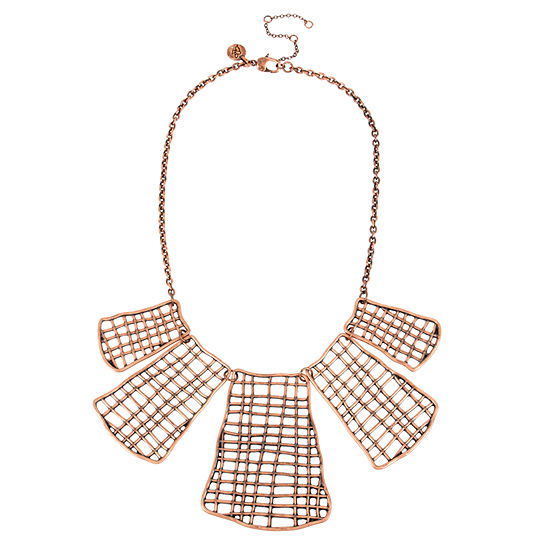 Libby Edelman 17 Inch Cable Statement Necklace