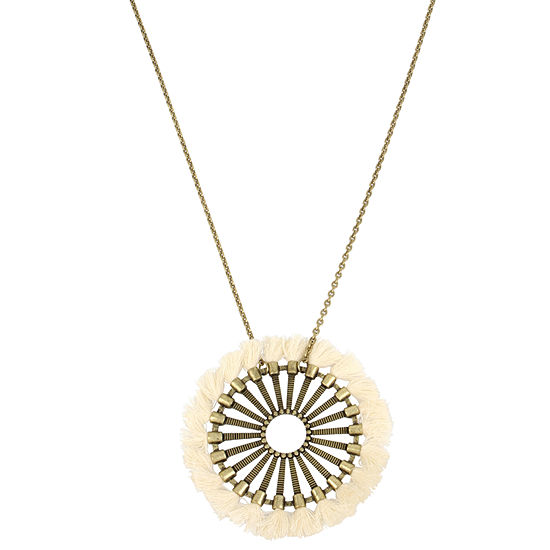 Libby Edelman 31 Inch Cable Pendant Necklace