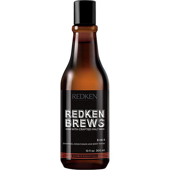 Redken Brew 3-In-1 Shampoo - 10.1 oz.