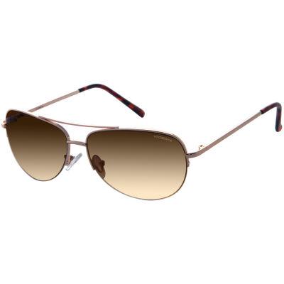 Liz Claiborne Half Frame Aviator UV Protection Sunglasses-Womens