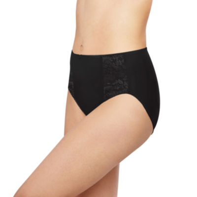 Bali Essentials Double Support Knit High Cut Panty-Dfdbhc