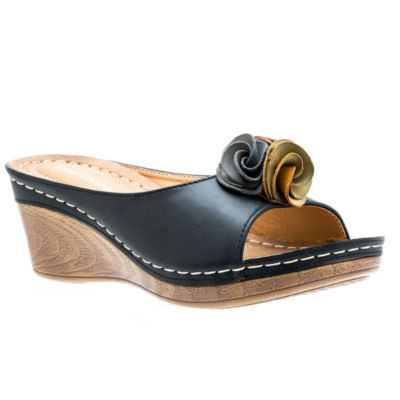 GC Shoes Sydney Womens Wedge Sandals