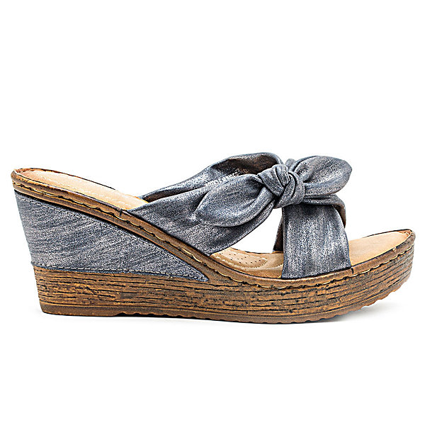 GC Shoes Janus Womens Wedge Sandals
