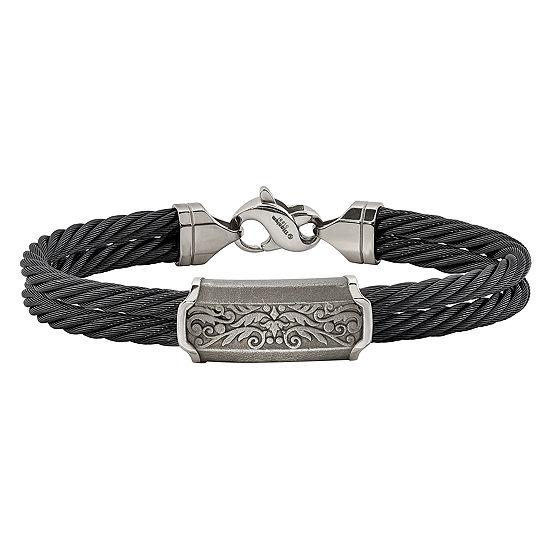 Edward Mirell Titanium Bangle Bracelet