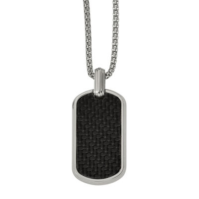 Edward Mirell Mens Sterling Silver Pendant Necklace