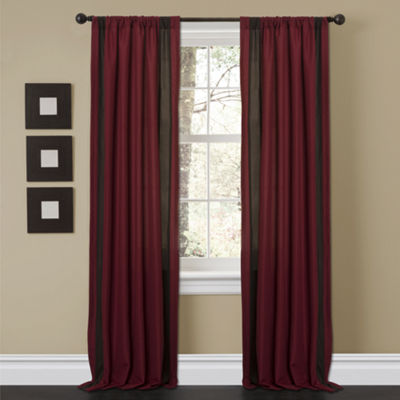 Lush Décor Charming Sand Window Curtain Set 40X84