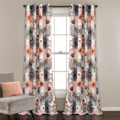 Half Moon Leah Room Darkening Window Curtain Set 52X84