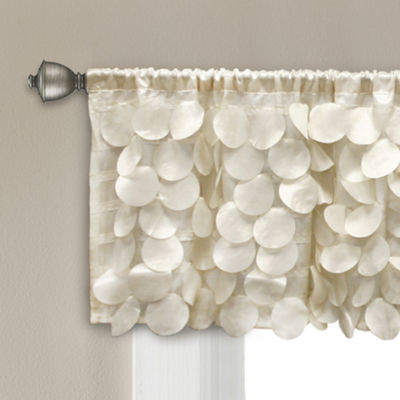 Lush Decor Gigi Valance Ivory Single 70X14