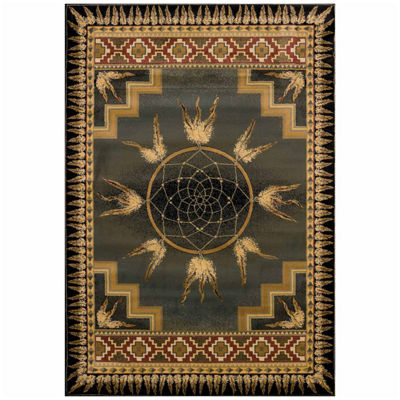 United Weavers Genesis Collection Dream Catcher Rectangular Rug