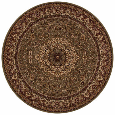 Concord Global Trading Persian Classics Collection Isfahan Round Area Rug