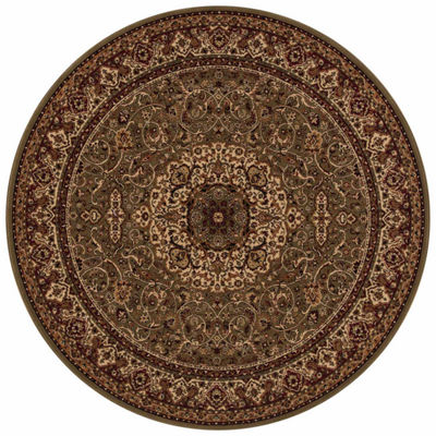 Concord Global Trading Persian Classics CollectionIsfahan Round Area Rug