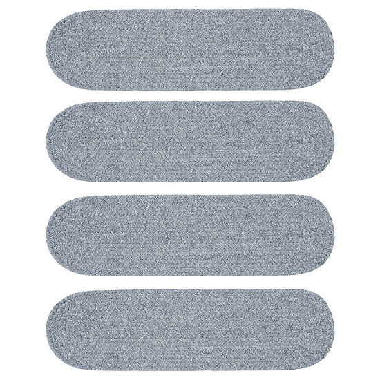 Colonial Mills Timberline Braided Oval Reversible Indoor Stair Treads