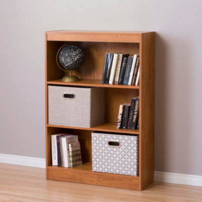 Axess 3-Shelf Bookcase