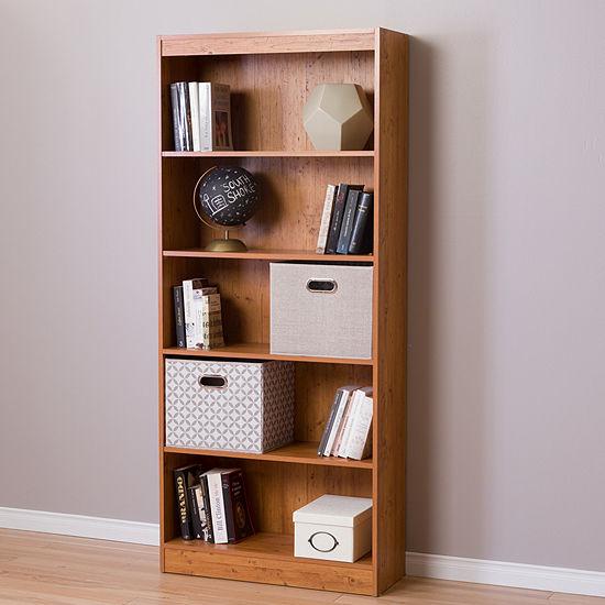 Axess 5-Shelf Bookcase