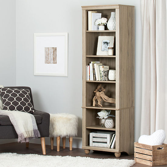 Hopedale Narrow 6-Shelf Bookcase