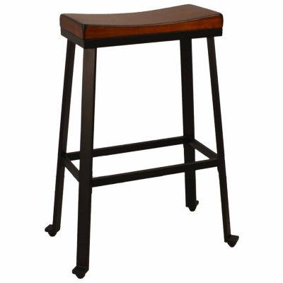 Finley Saddle Seat Bar Stool