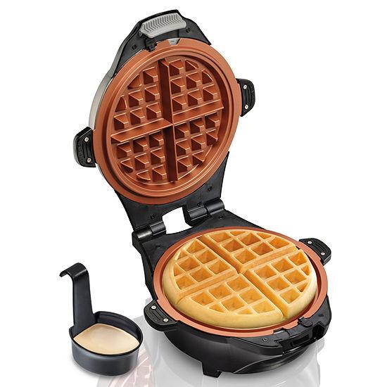Hamilton Beach® Deep-Dish Ceramic Waffle Maker