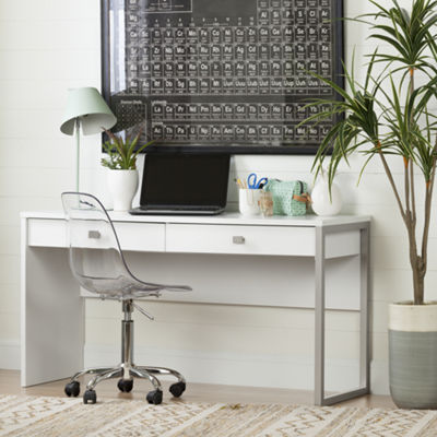 Interface Desk with 2 Drawers