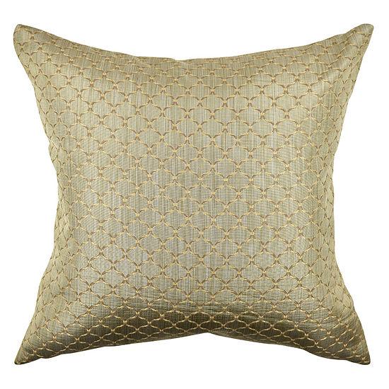 Vesper Lane Lattice Woven Throw Pillow