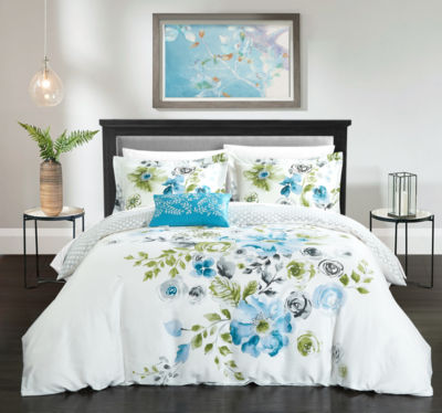 Enchanted Garden 4 Piece Duvet Set