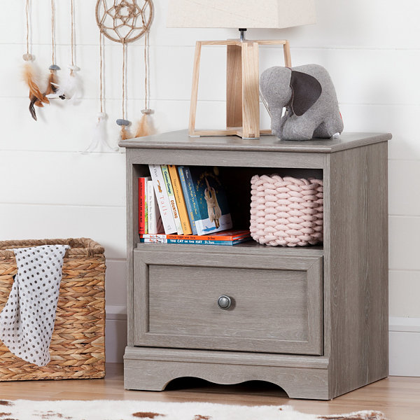 Savannah 1-Drawer Nightstand