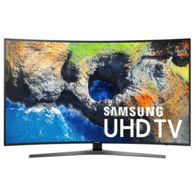 "Samsung Curved 55"" Class UHD 4K HDR LED Smart HDTV Model UN55MU7500FXZA"