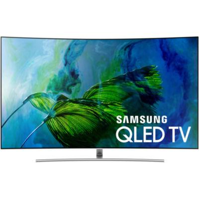 "Samsung Curved 65"" Class UHD 4K HDR QLED Smart HDTV Model QN65Q8CAMFXZA"