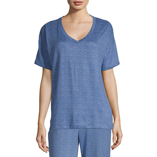 Jaclyn Womens Whisperluxe Super Soft Pajama Top