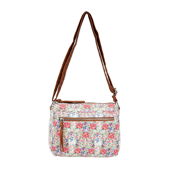 St. John's Bay Grainy Wash Crossbody Bag