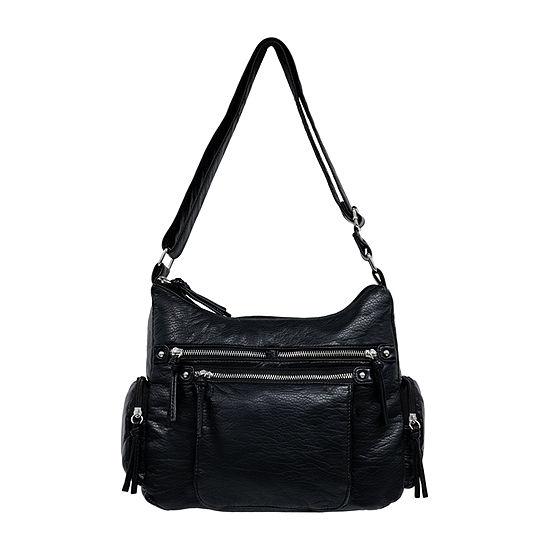 St. John's Bay Grainy Wash Hobo Bag